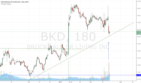 BKD: Brookdale Sr Living Swing Trade