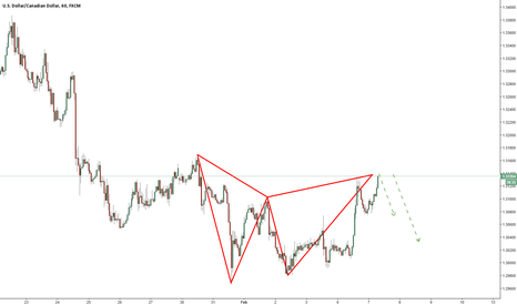 USDCAD: USDCAD/ 1 Hour / Short Opportunity