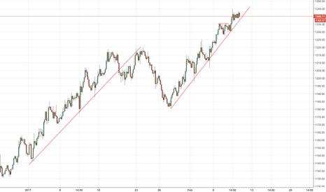 XAUUSD: GOLD - XAUUSD - Short alla Rottura della trend Line??