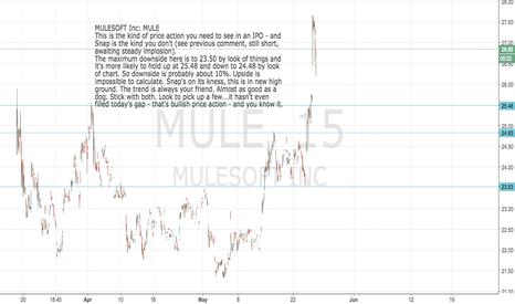 MULE: MULESOFT Inc: MULE: All systems go