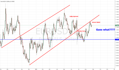 EURUSD: EURUSD Gues what to do...