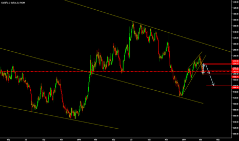 XAUUSD: Gold in short term correction before the  big drop