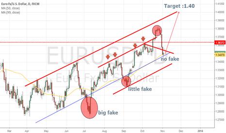 EURUSD: eu target 1.40