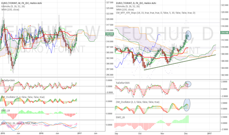 EURHUF: Time for a small pull back?