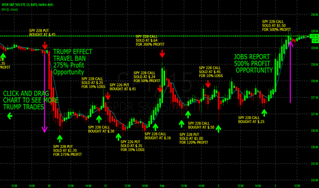 SPY: 1275% SWING TRADING S&P 500 THE NEWS THIS YEAR USING SPY OPTIONS