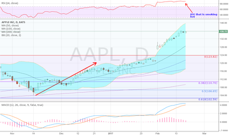 AAPL: Its getting hot in here...