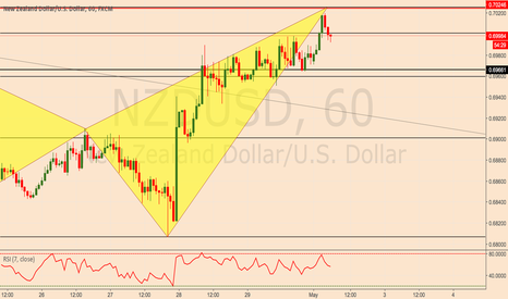 NZDUSD: NZDUSD Bearish Shark