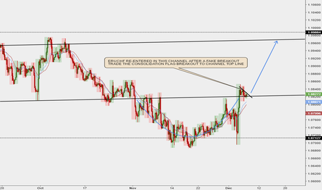 EURCHF: EURCHF re-entered in a long term bullish channel