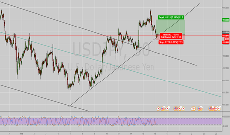 USDJPY: Going long
