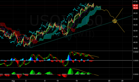 USOIL: USOIL bearish divergence and rally exhaustion