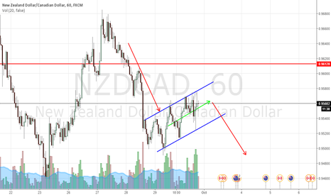 NZDCAD: NZDCAD CHANNEL FORMING