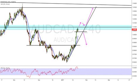 AUDCAD: AUD/CAD  Short....or Long