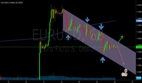 EURUSD: trend line