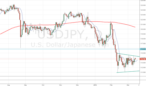 USDJPY: Breakout watch on daily