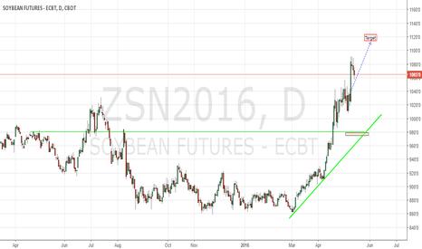 ZSN2016: Soybeans CBoT N16