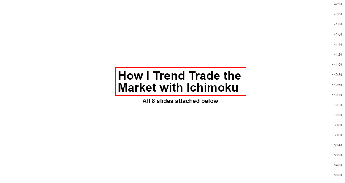 Trading with ichimoku (my way)...