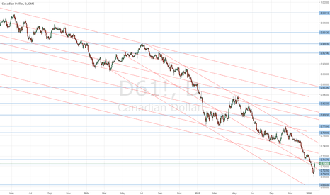 D61!: Looking to short the C$ Monday