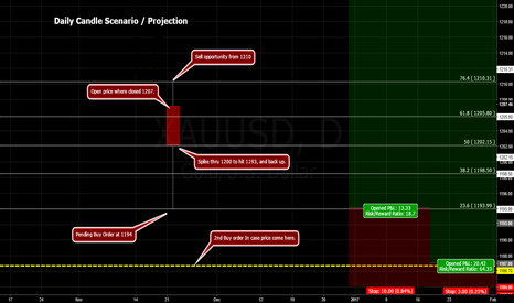 XAUUSD: GOLD / Projection