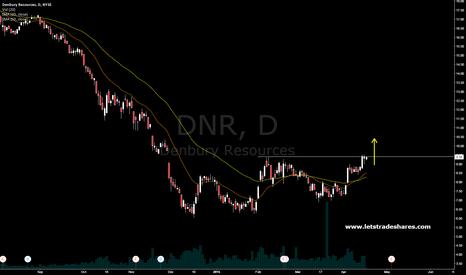 DNR: Denbury Resources . Waiting for a breakout