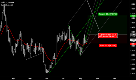 GCZ2014: Gold moving higher in August (re-published)