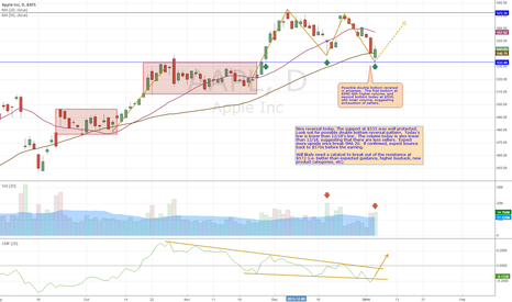 AAPL: AAPL Daily Analysis 1/6/2014