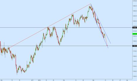 XAUUSD: Overall Bearish Perspective on Gold
