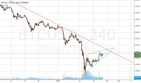 BTCUSD: BTC in a rising wedge?