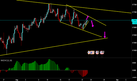 AUDUSD: AUDUSD Downtrend continuation-possibly much more?