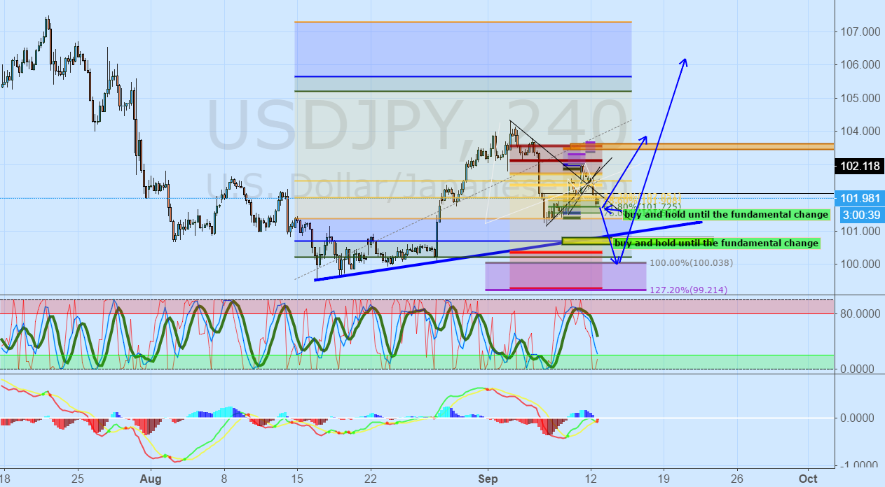 USDJPY: Buy & Hold Until the Economic-Fundamentals Change