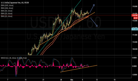 USDJPY: Possible Move of USDPJY