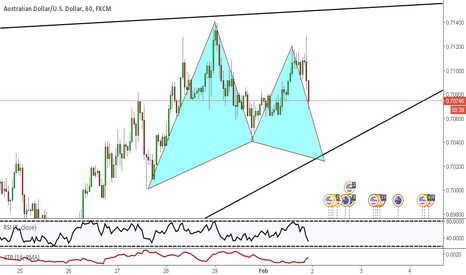 AUDUSD: Potential Bullish Gartley