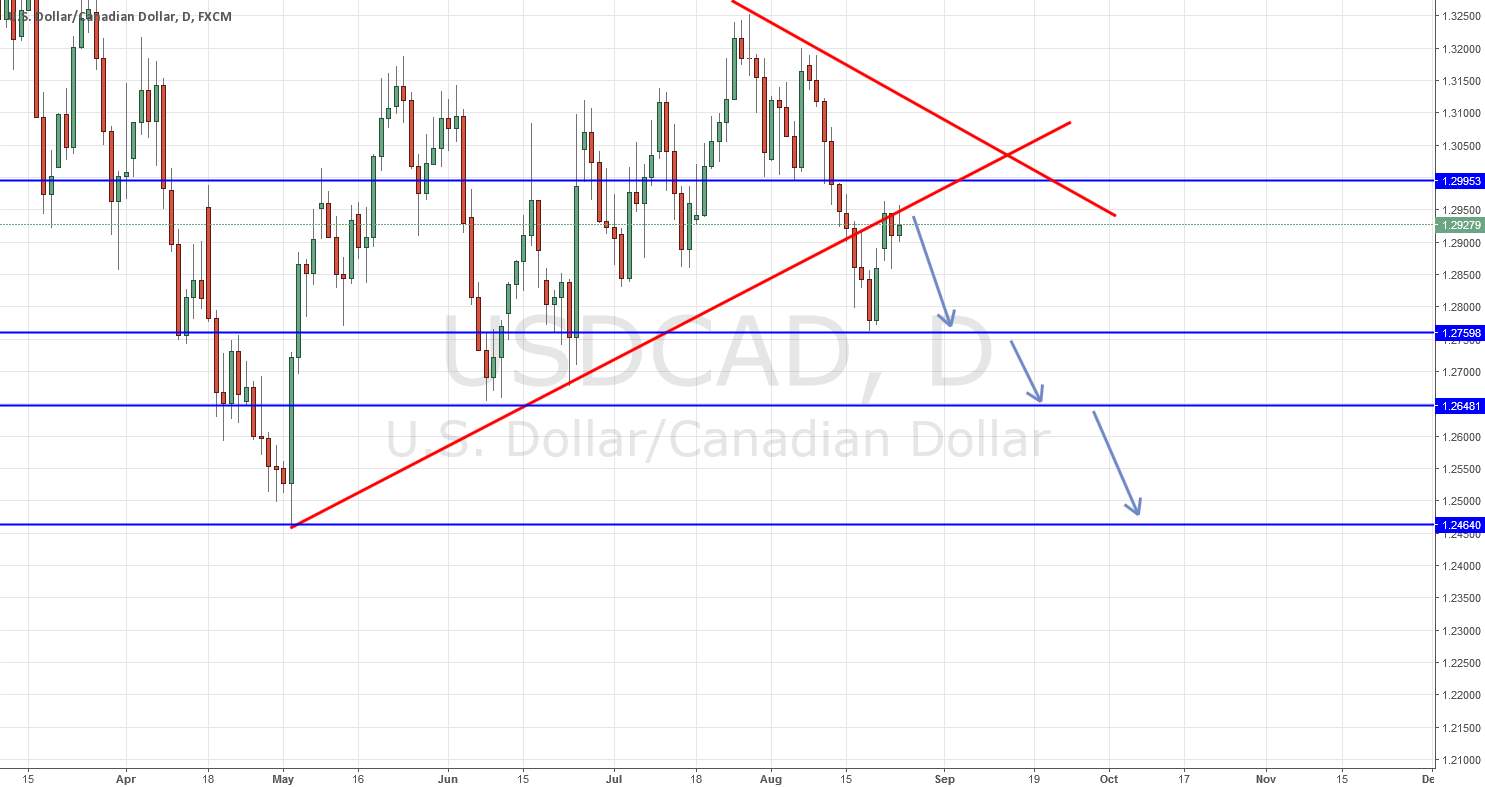 USDCAD Long down! Dont miss that too