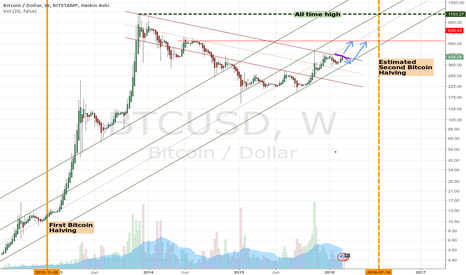 BTCUSD: Bitcoin to go up (or down then up)