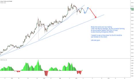 BTCUSD: Bitcoin already starting its natural pullback?