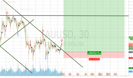 XAUUSD: Potential Reversal for Gold