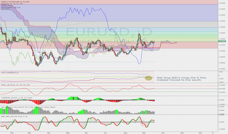 EURUSD: Long term EURUSD looks bearish from the COT data