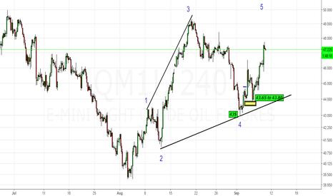 QM1!: CrudeOil & MCX Crude Up - Up & Away