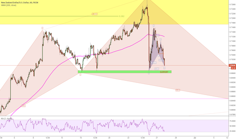 NZDUSD: waiting... colse to a support