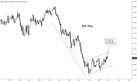 NZDUSD: Text Book Pin bar formed, hinting us of lower prices.