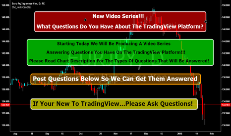 EURJPY: New Video Series!  What Questions Do You Have About TradingView?