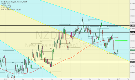 NZDUSD: Long momentum on NZD