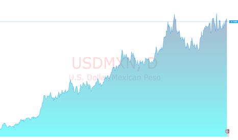 USDMXN: USD / MXN