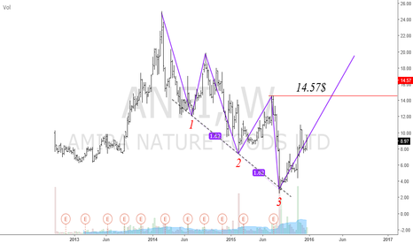ANFI: ANFI Bullish Three Drives Pattern