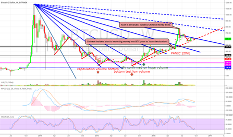 """BTCUSD: BTC WEEKLY CHART: """"The Panic Zone""""  The End of the World"""