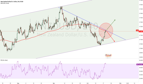 NZDUSD: Betting for Short but Hoping for Breakout