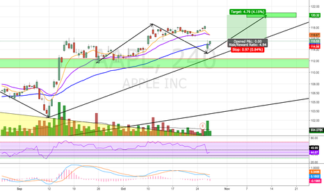 AAPL: Potential Bullish Continuation Pattern