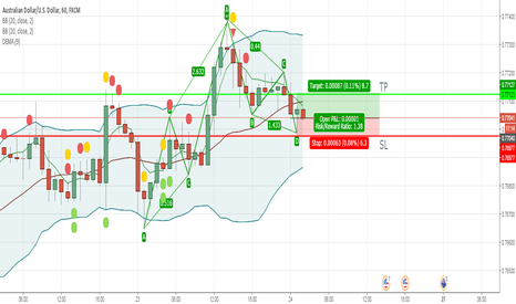 AUDUSD: Possible ABCD Pattern