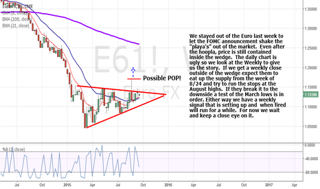 E61!: Euro love coming
