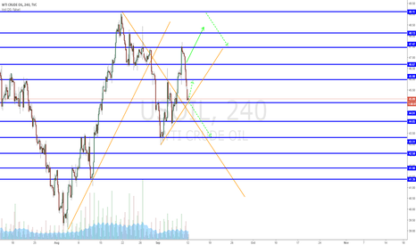 USOIL: Watch the support level 45