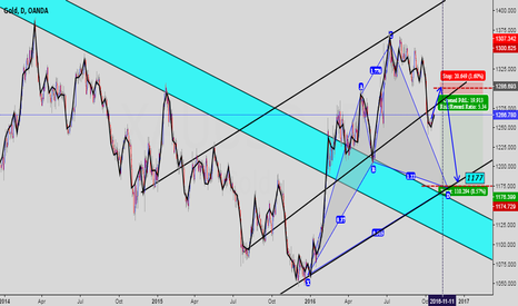XAUUSD: Just this week, gold is rising